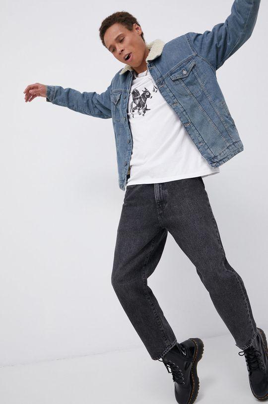 niebieski Only & Sons - Kurtka jeansowa Męski
