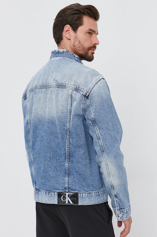 Calvin Klein Jeans - Kurtka jeansowa 80 % Bawełna, 20 % Bawełna z recyklingu