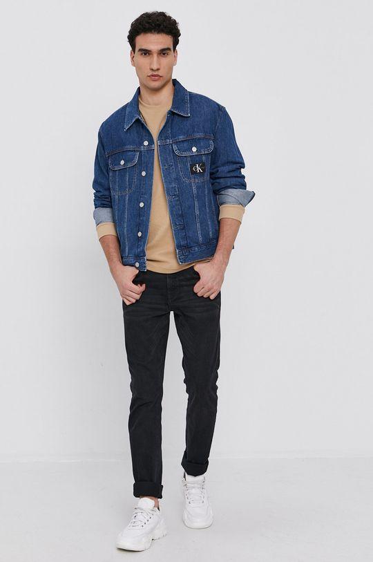 Calvin Klein Jeans - Kurtka jeansowa niebieski