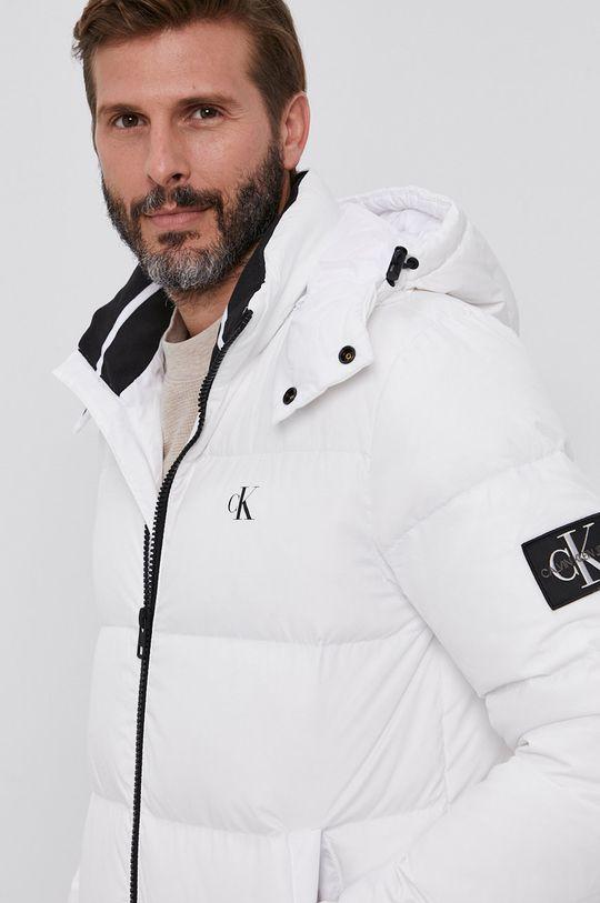 bílá Calvin Klein Jeans - Péřová bunda Pánský