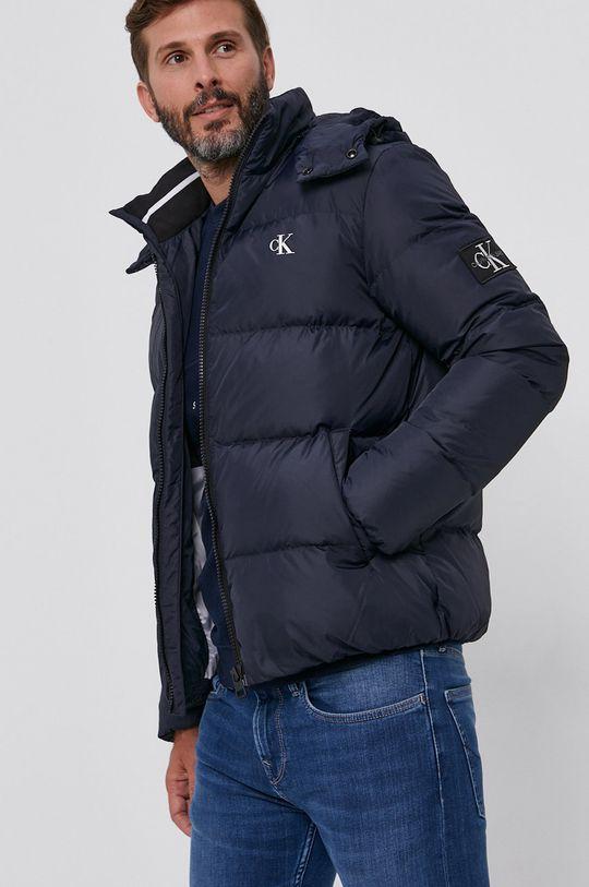 námořnická modř Calvin Klein Jeans - Péřová bunda Pánský