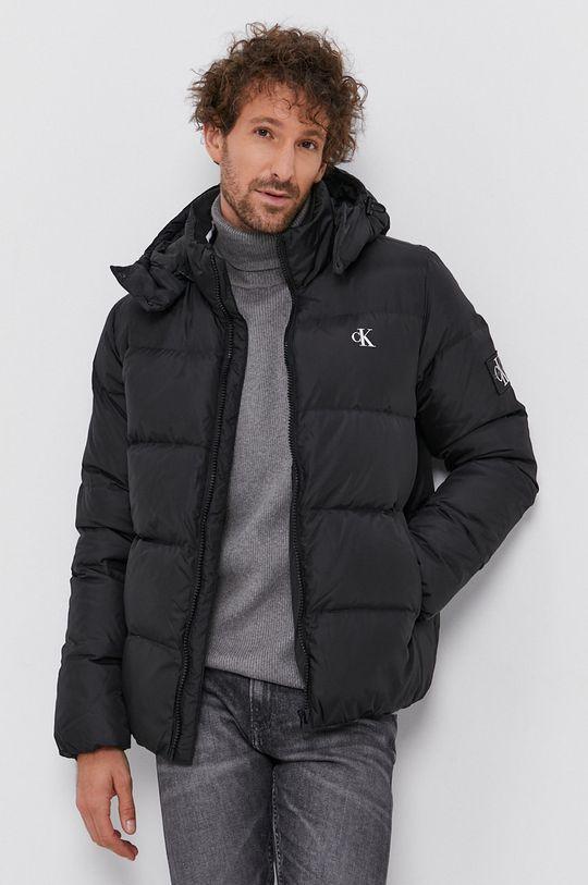 černá Calvin Klein Jeans - Péřová bunda Pánský