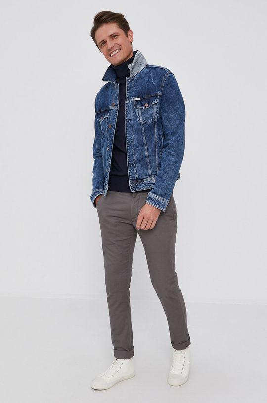 Guess - Kurtka jeansowa Materiał zasadniczy: 98 % Bawełna, 2 % Elastan, Podszewka kieszeni: 35 % Bawełna, 65 % Poliester