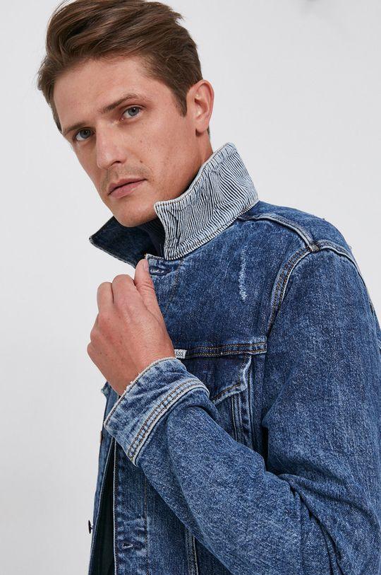 niebieski Guess - Kurtka jeansowa