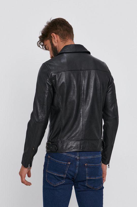 Guess - Kožená ramoneska  Podšívka: 100% Polyester Hlavní materiál: 100% Přírodní kůže