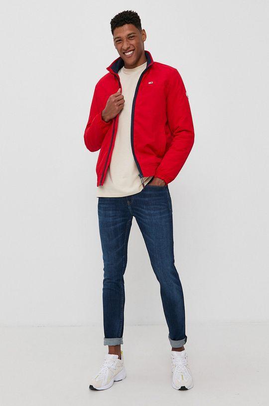 Tommy Jeans - Kurtka czerwony