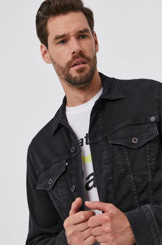czarny Pepe Jeans - Kurtka jeansowa Pinner