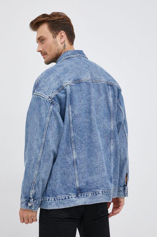 Calvin Klein Jeans - Džínová bunda  100% Bavlna