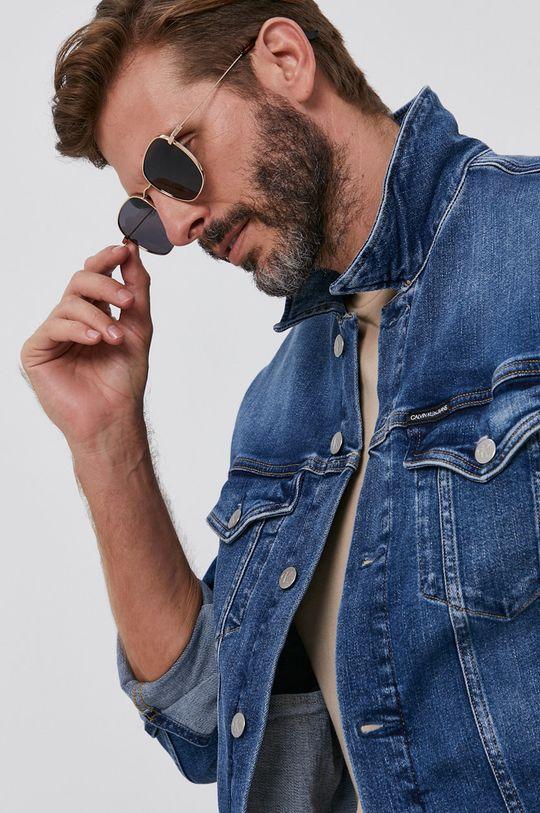 niebieski Calvin Klein Jeans - Kurtka jeansowa