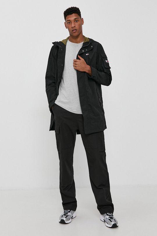Tommy Jeans - Bunda čierna