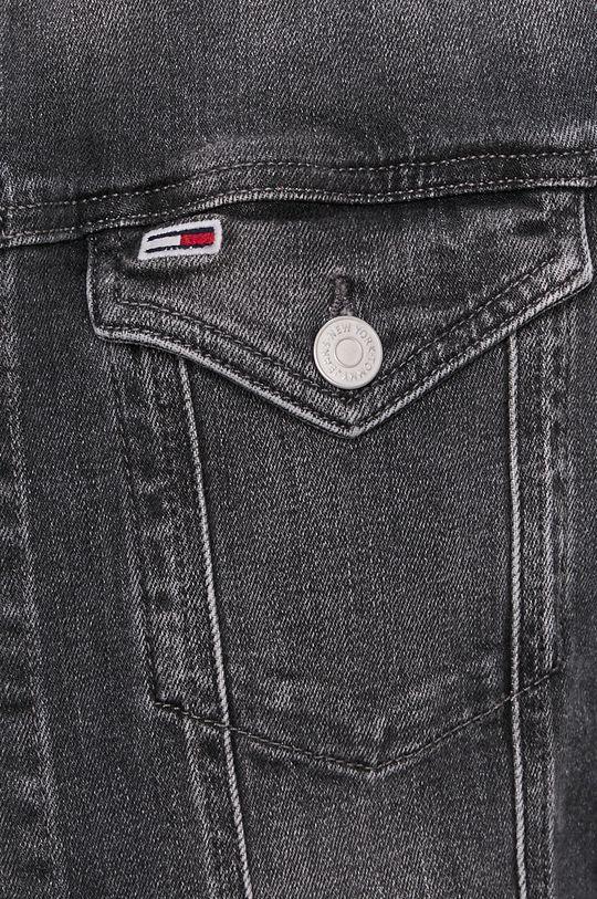 grafitowy Tommy Jeans - Kurtka jeansowa