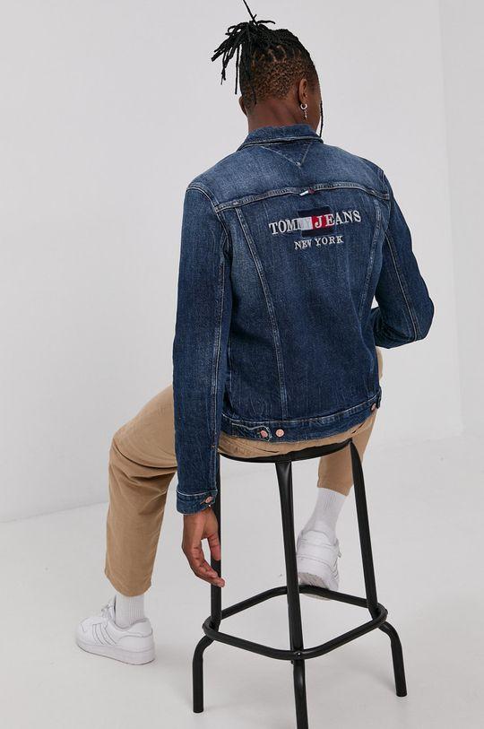 námořnická modř Tommy Jeans - Džínová bunda Pánský