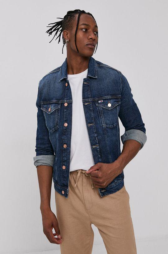 Tommy Jeans - Džínová bunda námořnická modř
