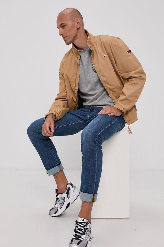 beżowy Tommy Jeans - Kurtka Męski