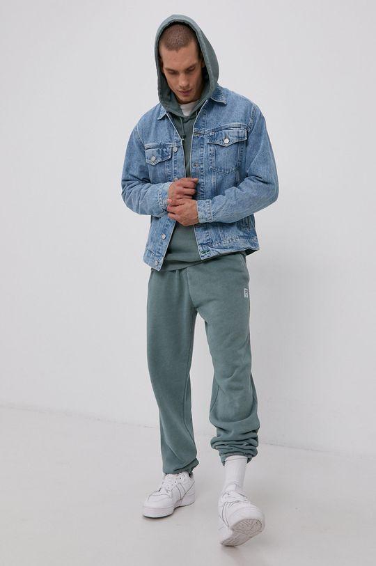 Tommy Jeans - Kurtka jeansowa niebieski