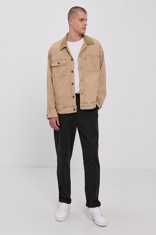 Levi's - Kurtka jeansowa beżowy