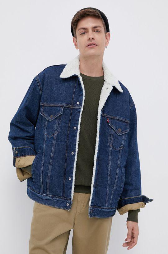granatowy Levi's - Kurtka jeansowa