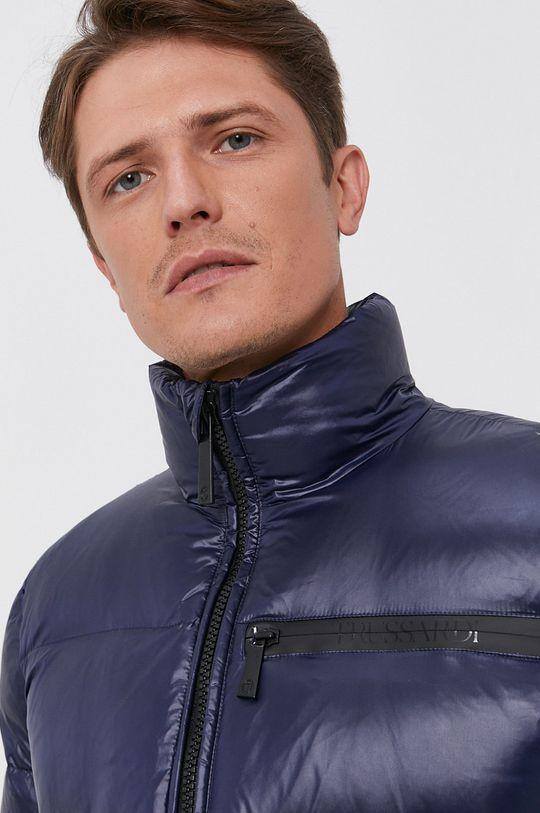 námořnická modř Trussardi - Péřová bunda