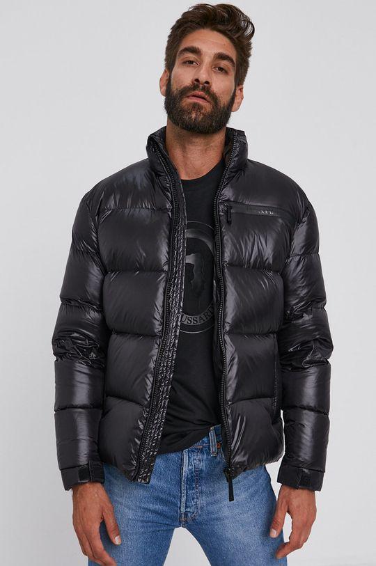 černá Trussardi - Péřová bunda Pánský