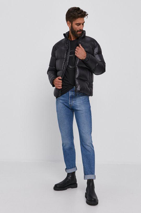 Trussardi - Péřová bunda černá