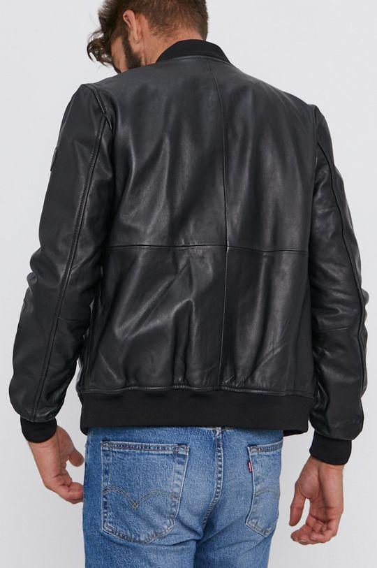 Trussardi - Kožená bunda bomber  Podšívka: 100% Polyester Hlavní materiál: 100% Přírodní kůže Stahovák: 100% Nylon