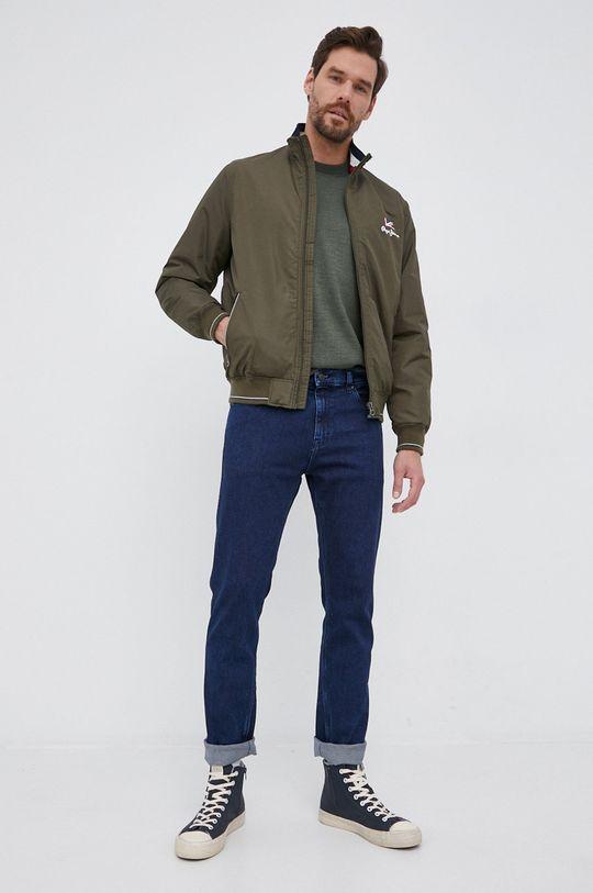 Pepe Jeans - Σακάκι Theodore ελιά
