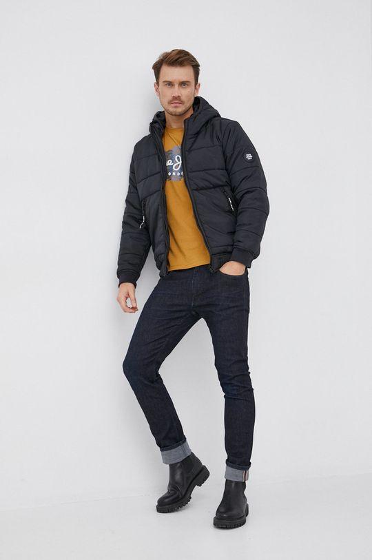czarny Pepe Jeans - Kurtka Graham Męski