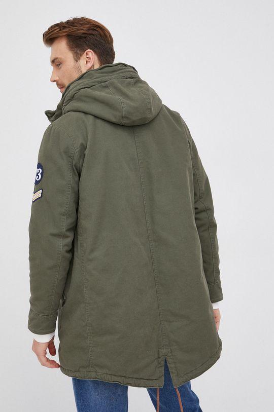 Pepe Jeans - Parka Fairfax  Podšívka: 100% Polyester Hlavní materiál: 100% Bavlna Umělá kožešina: 66% Akryl, 18% Modacryl, 16% Polyester