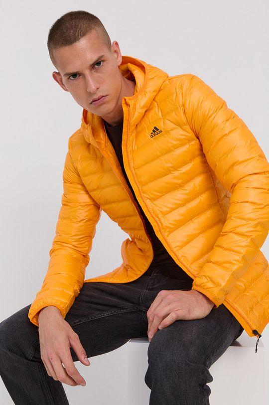 pomarańczowy adidas Performance - Kurtka puchowa Męski