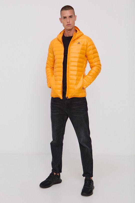 adidas Performance - Kurtka puchowa pomarańczowy