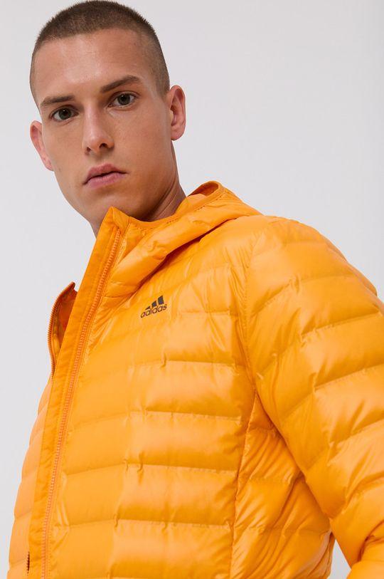 pomarańczowy adidas Performance - Kurtka puchowa