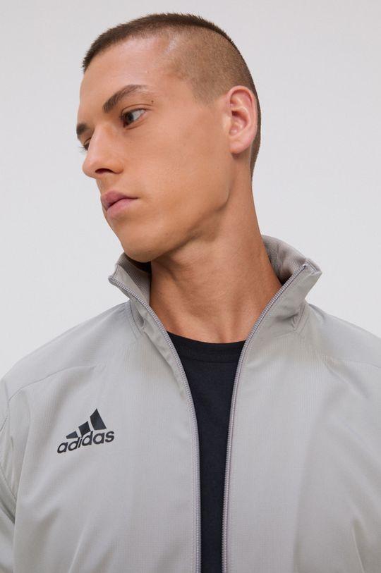 jasny szary adidas Performance - Kurtka