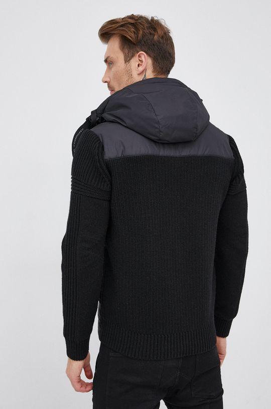 C.P. Company - Péřová bunda se směsí vlny  Podšívka: 100% Polyamid Výplň: 10% Peří, 90% Chmýří Materiál č. 1: 20% Polyamid, 80% Vlna Materiál č. 2: 100% Polyamid Materiál č. 3: 100% Polyester
