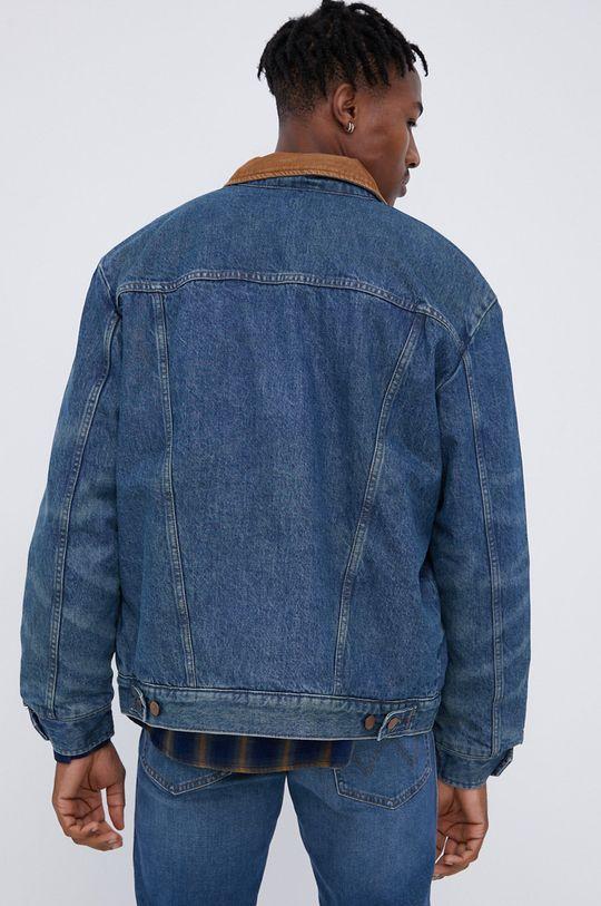 Wrangler - Kurtka jeansowa bawełniana Heritage Sherpa JKT Podszewka: 100 % Poliester, Wypełnienie: 100 % Poliester, Materiał zasadniczy: 100 % Bawełna, Podszewka rękawów: 100 % Poliester