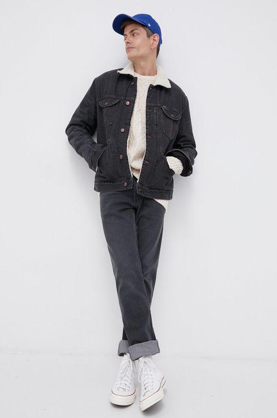 Wrangler - Kurtka jeansowa szary