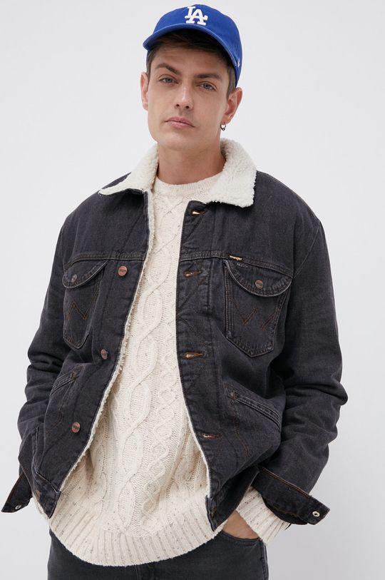 szary Wrangler - Kurtka jeansowa