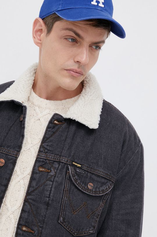 Wrangler - Kurtka jeansowa Męski