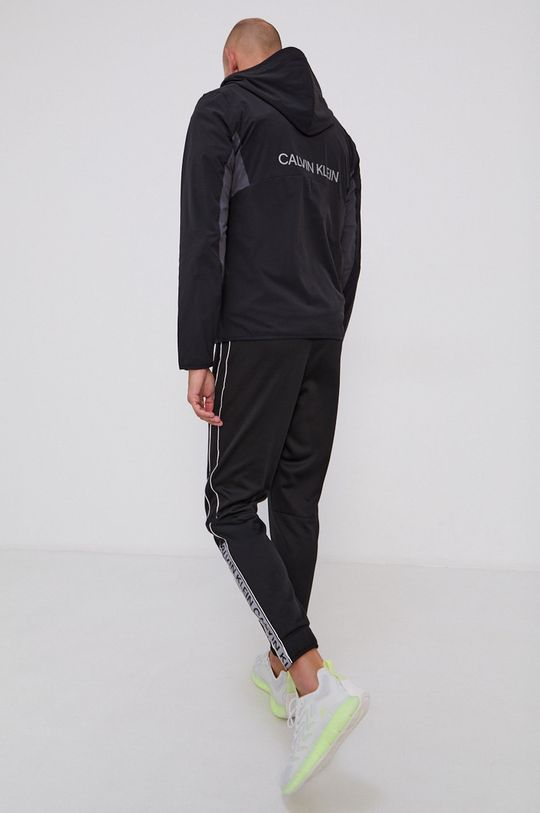 czarny Calvin Klein Performance - Kurtka Męski