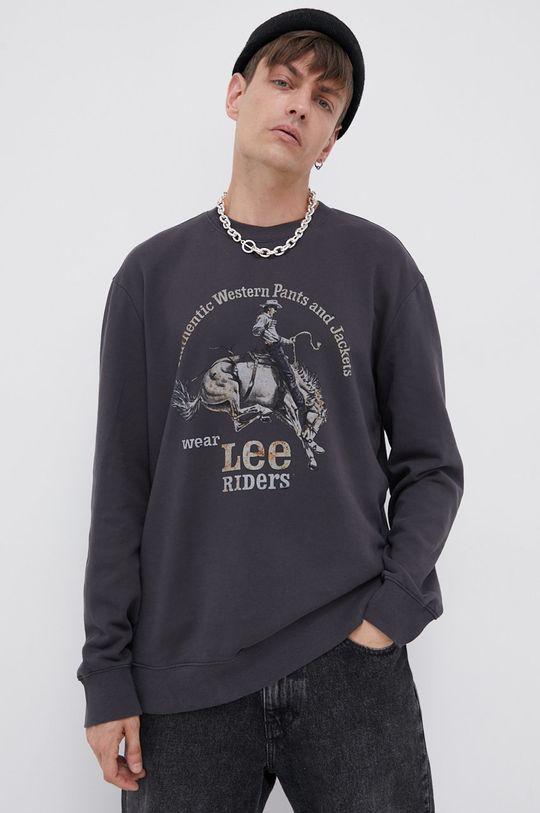 czarny Lee - Bluza bawełniana
