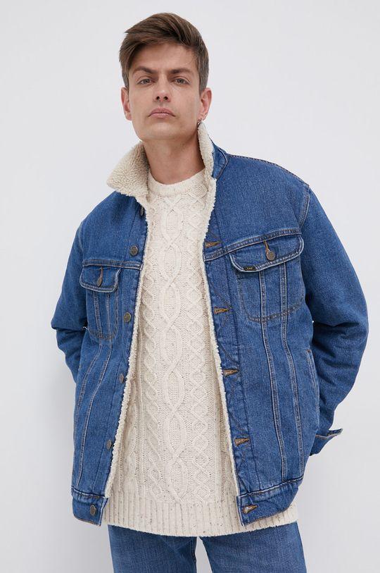 niebieski Lee - Kurtka jeansowa