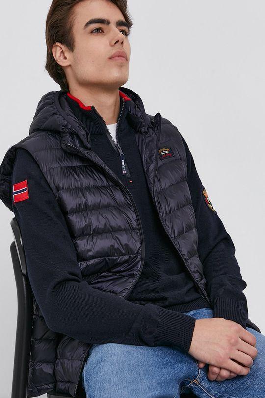 námořnická modř PAUL&SHARK - Péřová vesta