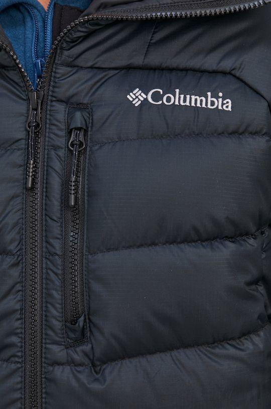 čierna Columbia - Páperová bunda