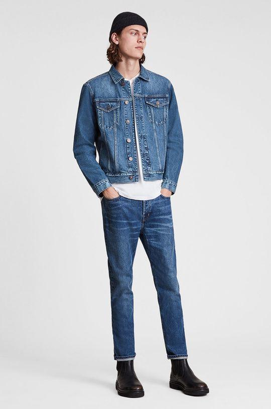 AllSaints - Kurtka jeansowa niebieski