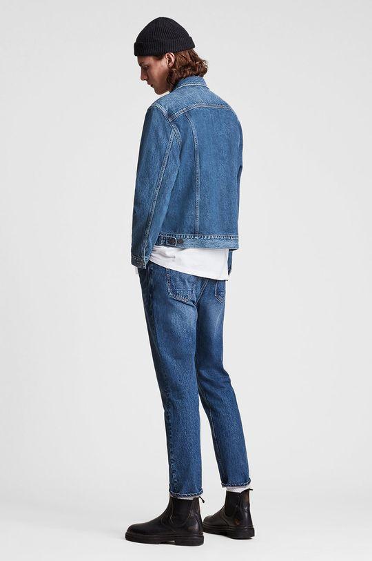 AllSaints - Kurtka jeansowa 50 % Bawełna, 50 % Bawełna z recyklingu