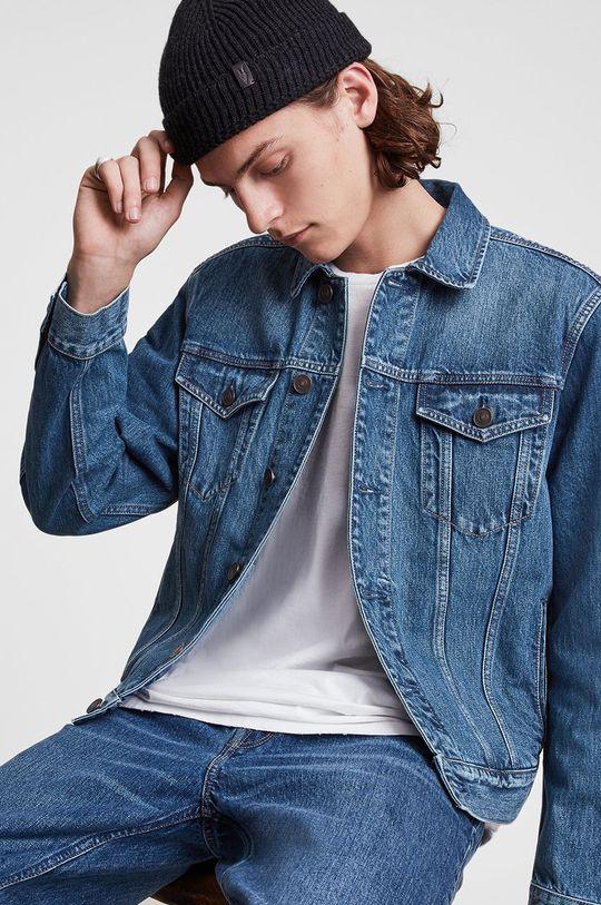 niebieski AllSaints - Kurtka jeansowa