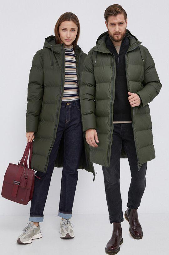 zielony Rains - Kurtka 1507 Long Puffer Jacket Unisex