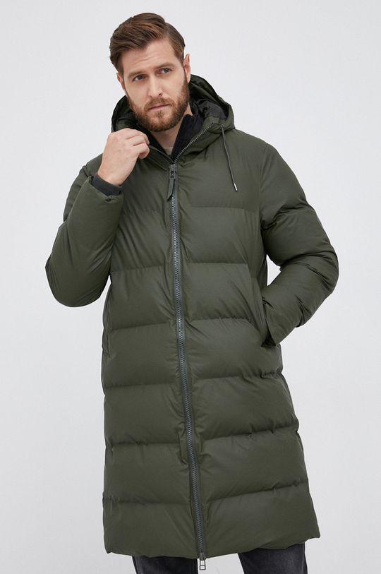 Rains - Kurtka 1507 Long Puffer Jacket zielony