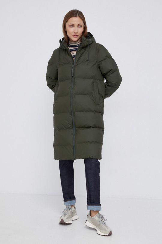 Rains - Kurtka 1507 Long Puffer Jacket Podszewka: 100 % Nylon, Wypełnienie: 100 % Poliester, Materiał zasadniczy: 57 % Poliester, 43 % Poliuretan