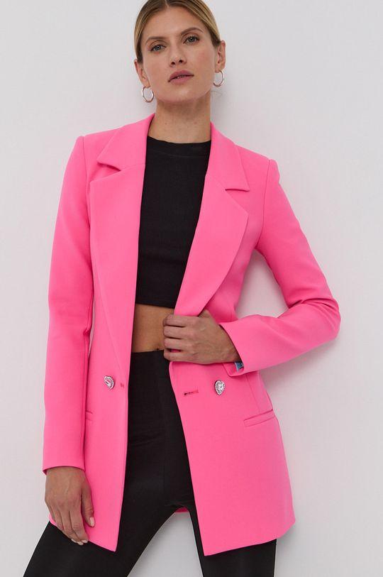 Chiara Ferragni - Sacou Unifrom roz ascutit