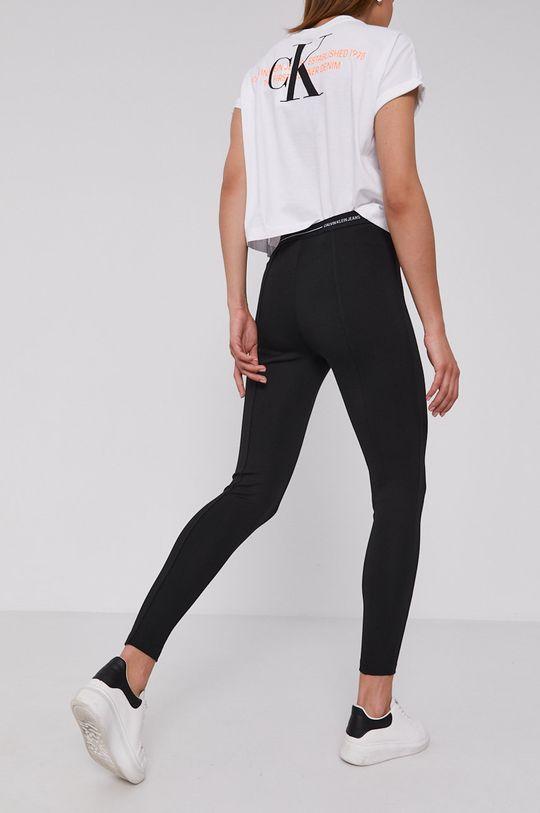 Calvin Klein Jeans - Legíny  5% Elastan, 29% Polyamid, 66% Viskóza